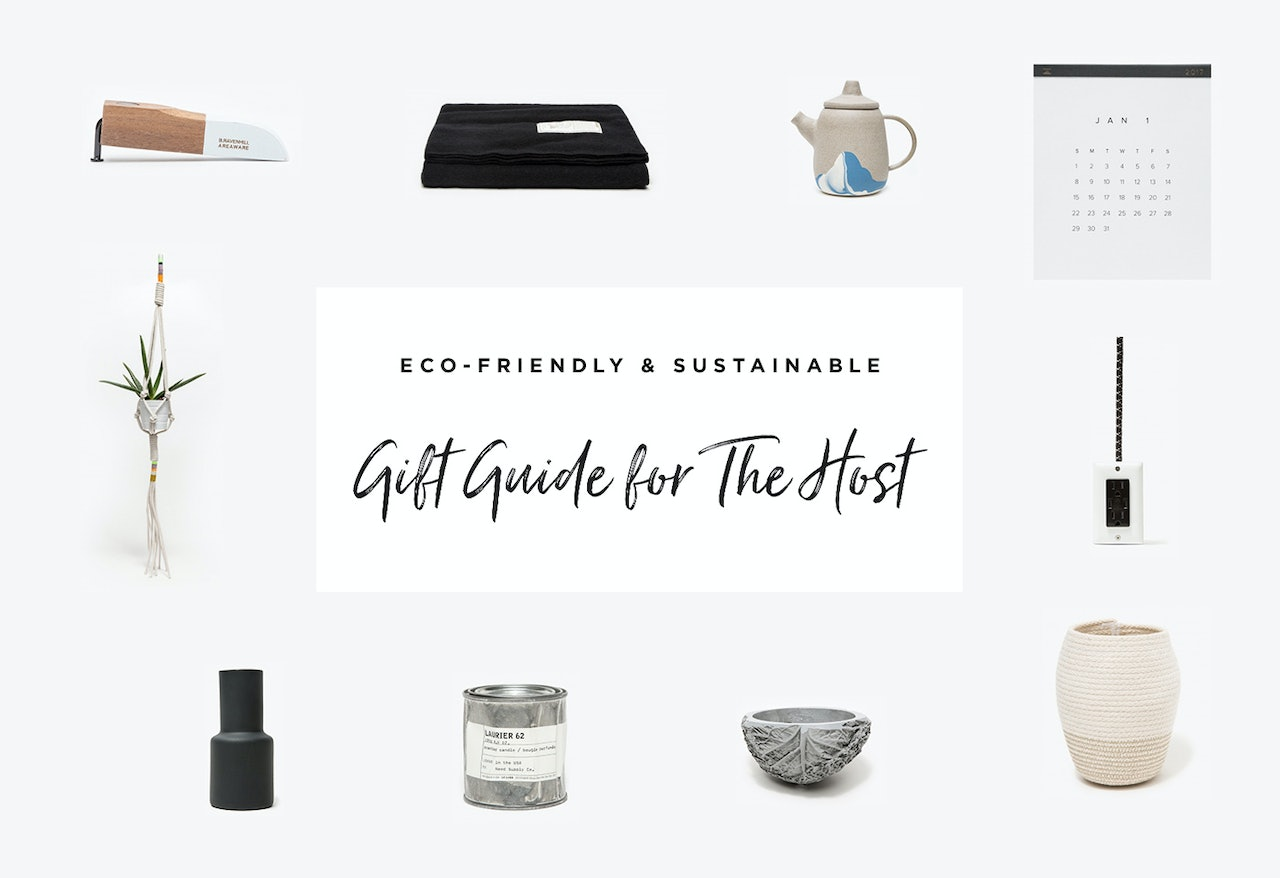 Gift Guide - Holiday Gift Guide 2016 - For the Host