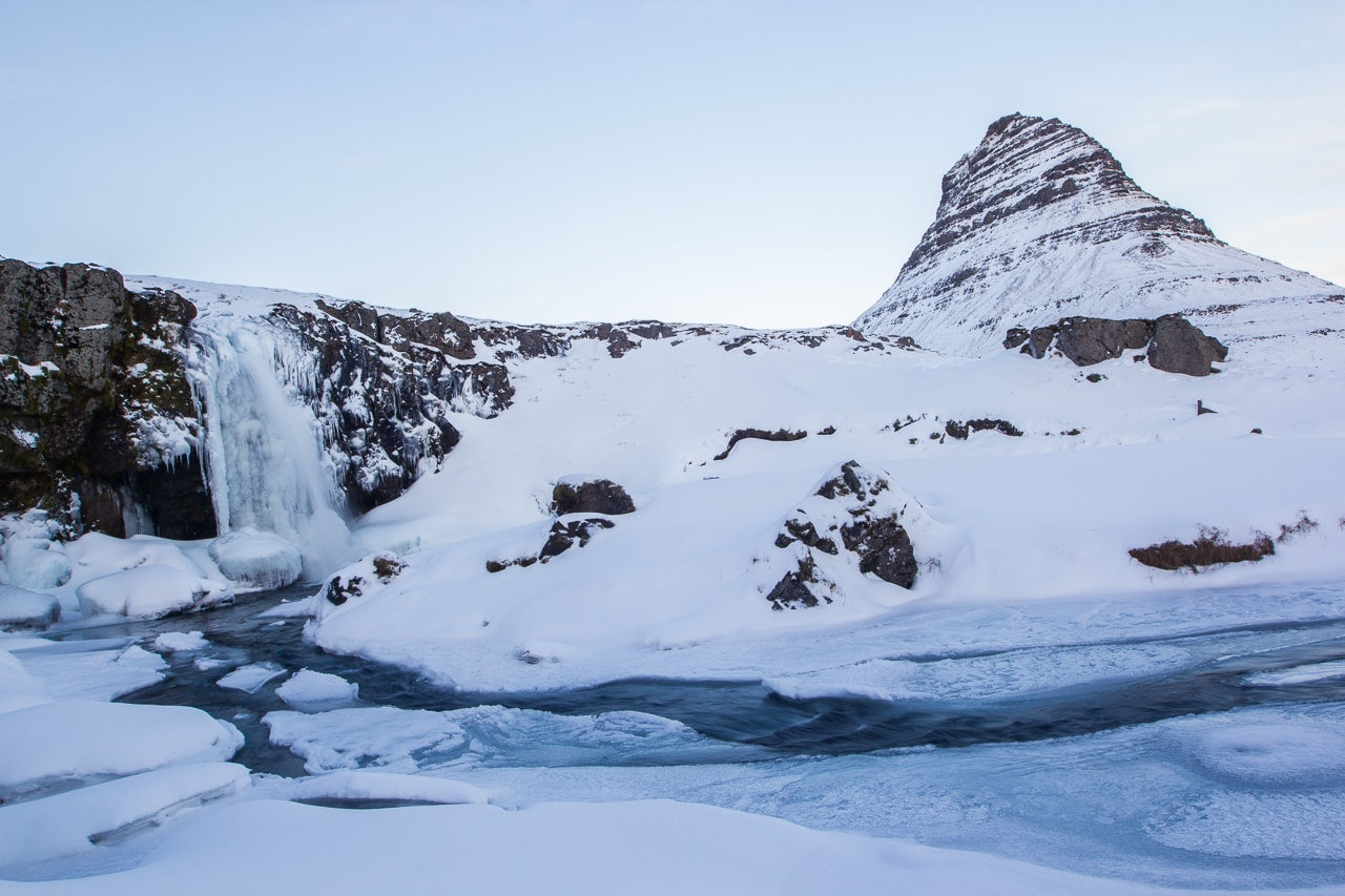 Iceland winter road trip - Kirkjufellsfoss - by Conscious by Chloé