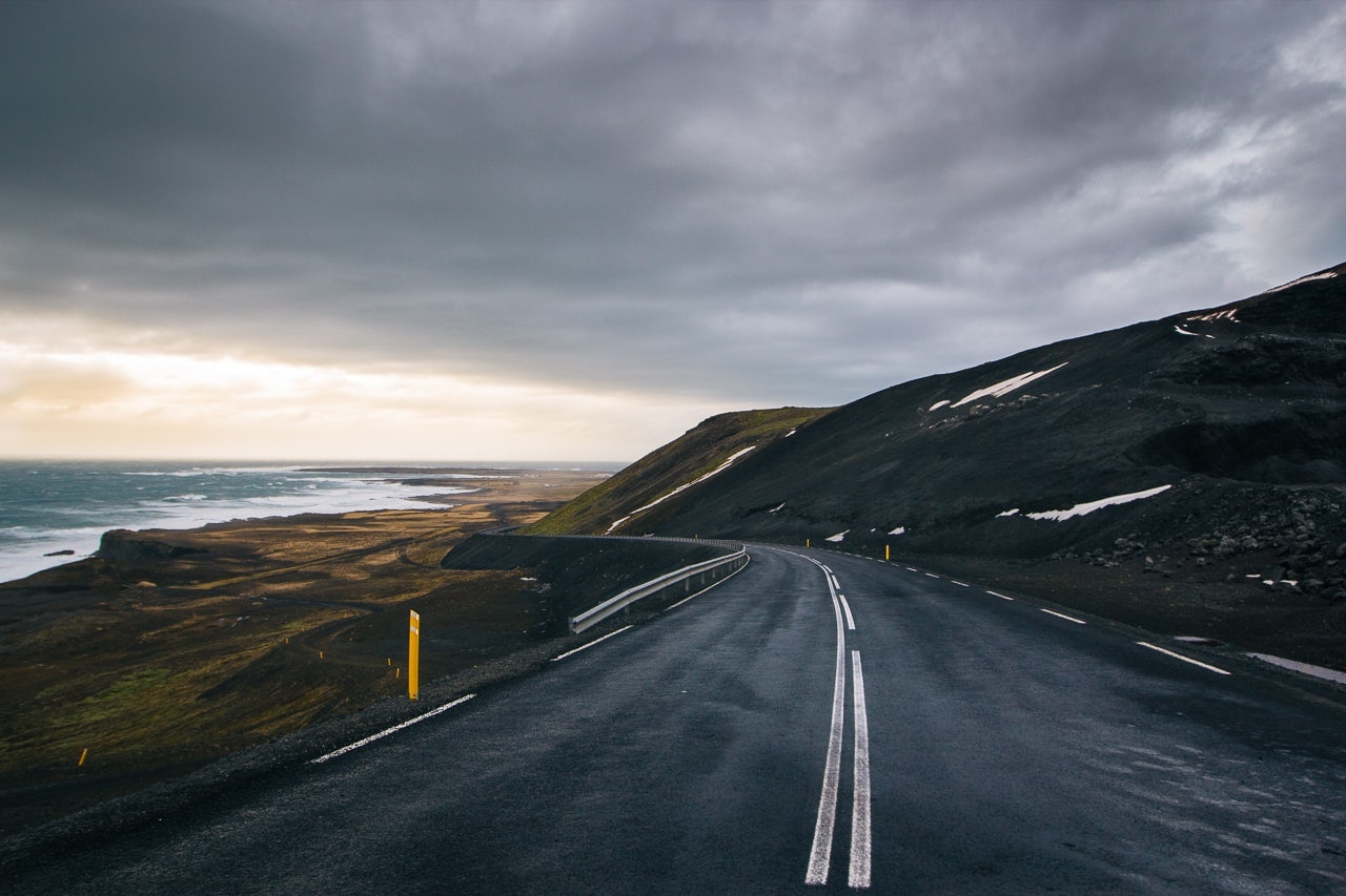 Iceland winter road trip - South West Iceland Road - by Conscious by Chloé