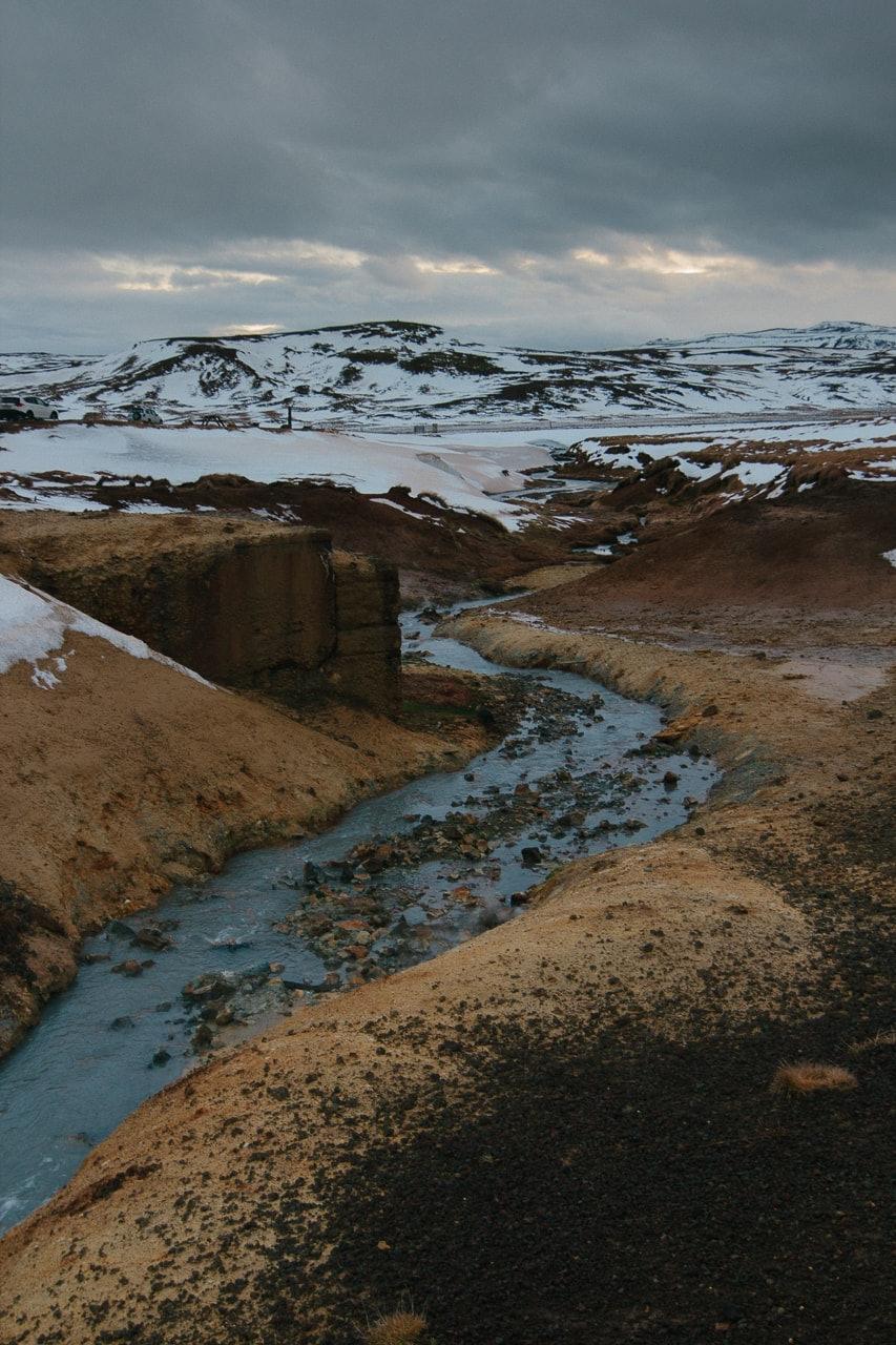 Iceland winter road trip - Krýsuvík Geothermal Area - by Conscious by Chloé