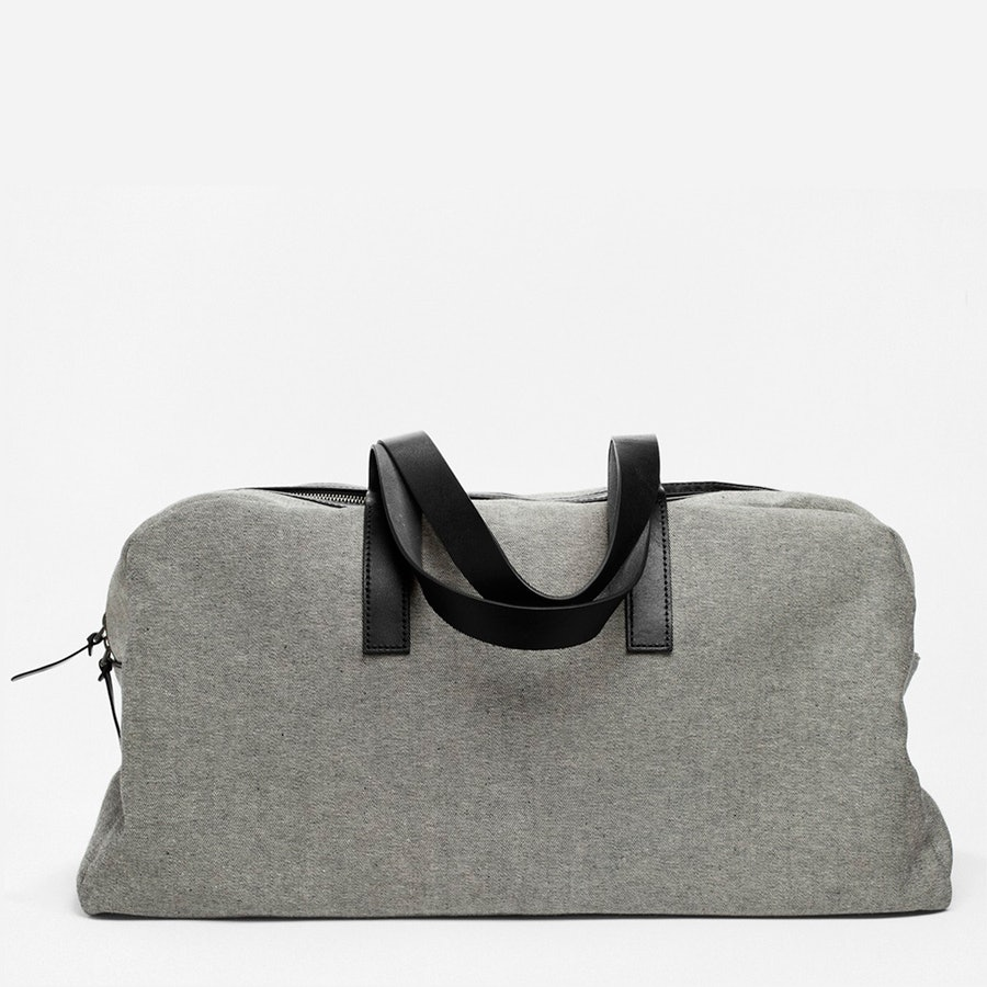 Twill Weekender Bag by Everlane for Conscious by Chloé