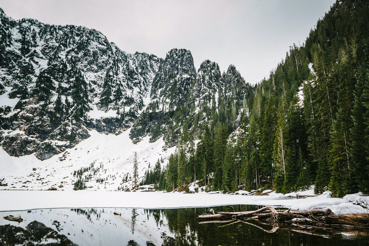 Lake Twenty-two in the Snoqualmie National Forest WA by Conscious by Chloé