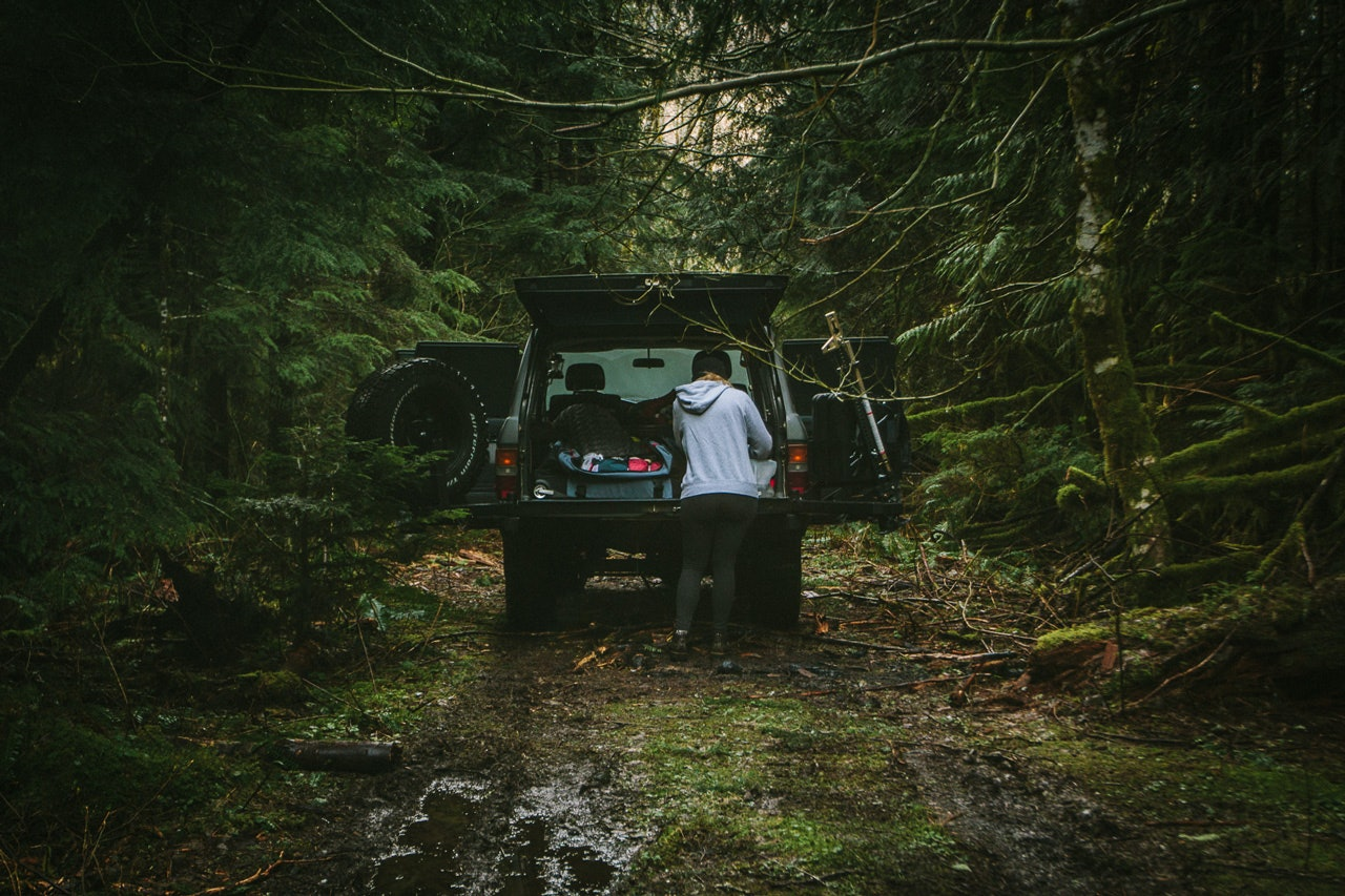 Camping in the Snoqualmie National Forest WA by Conscious by Chloé