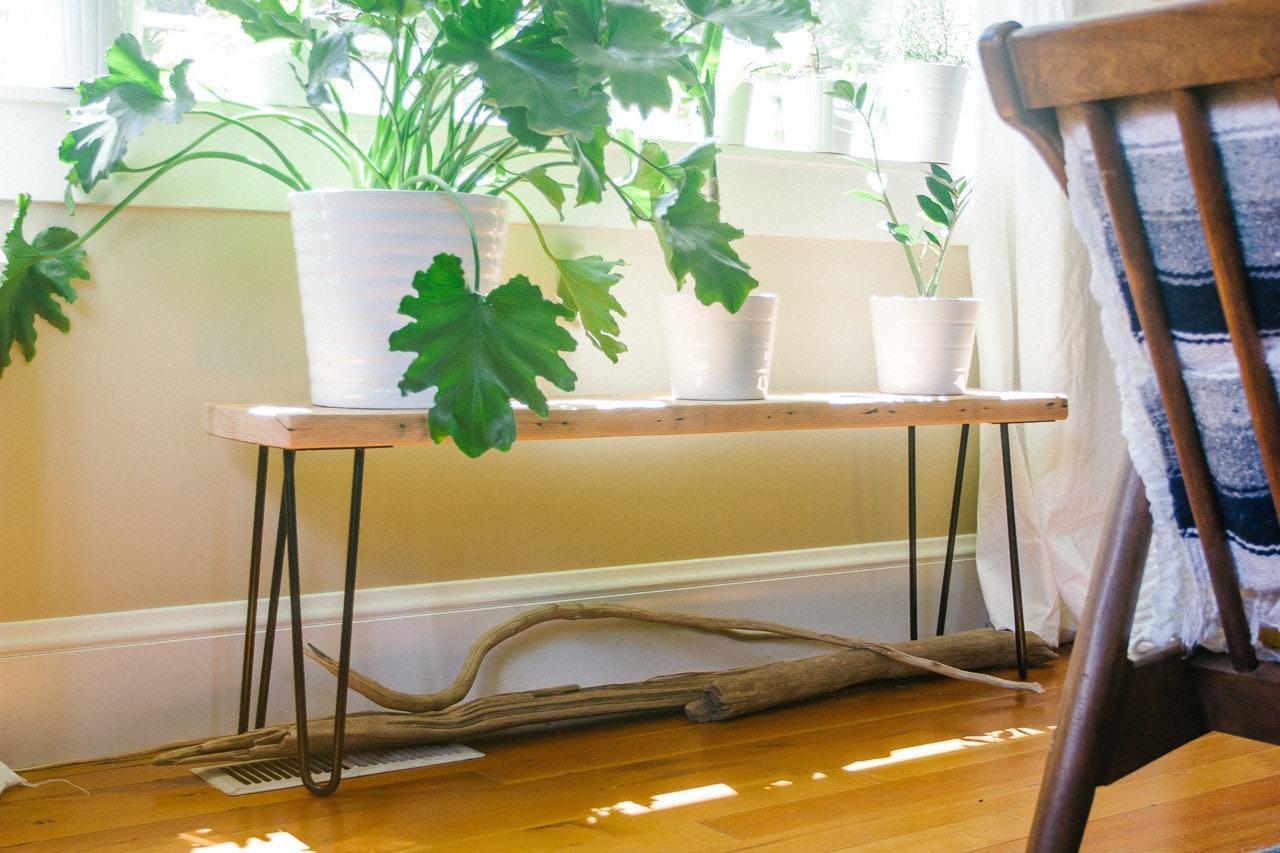 Make Your Own - Hairpin Leg Bench