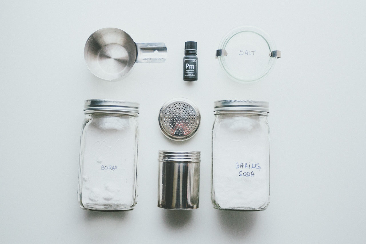 Make Your Own - Natural Scrubbing Powder