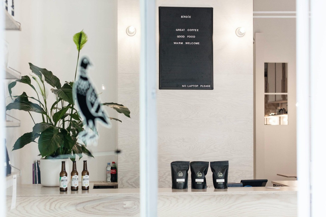 Birdie Coffee Shop - The Zero Waste City Guide to Geneva, Switzerland - Guide Zéro Déchet de Genève by Conscious by Chloé by Conscious by Chloé