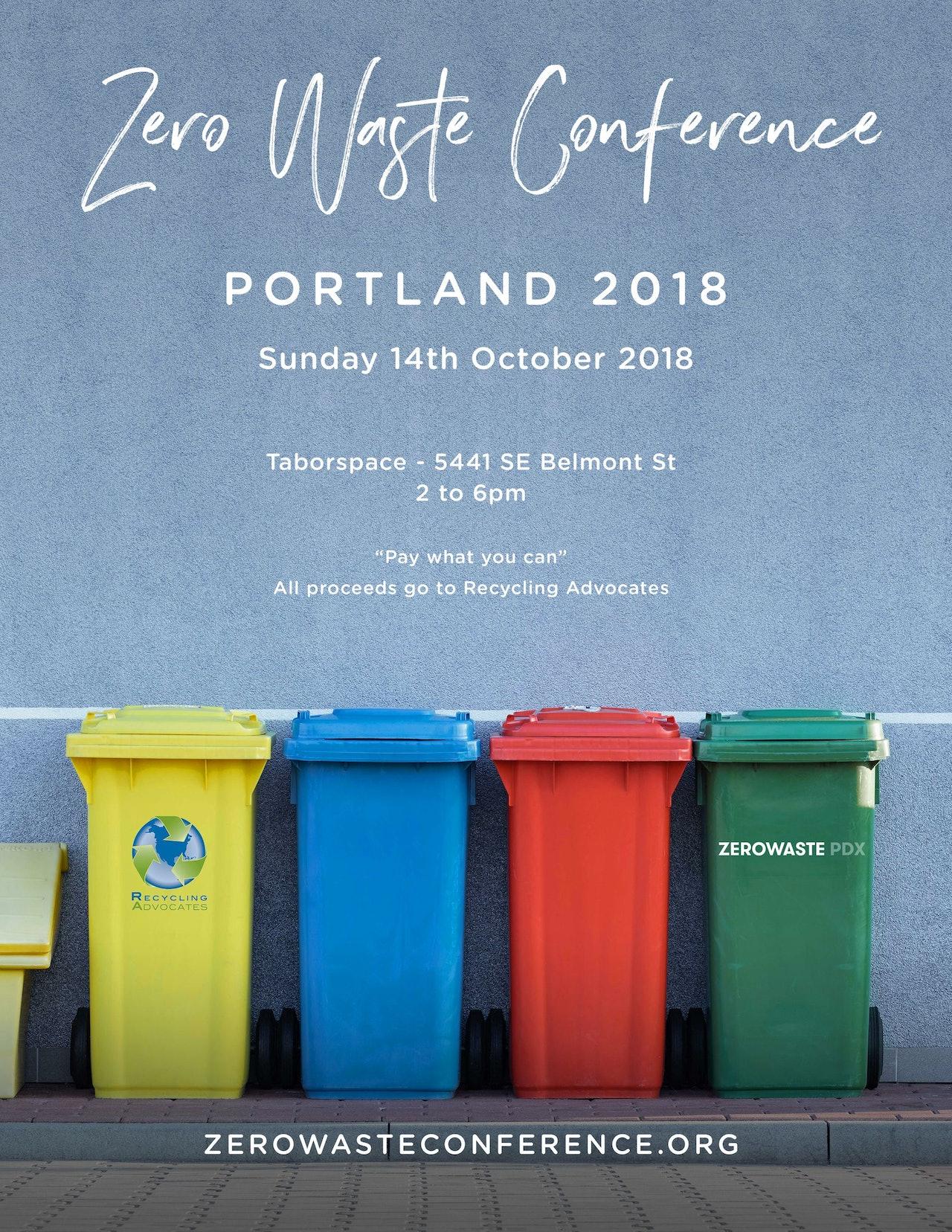 Portland Zero Waste Conference 2018