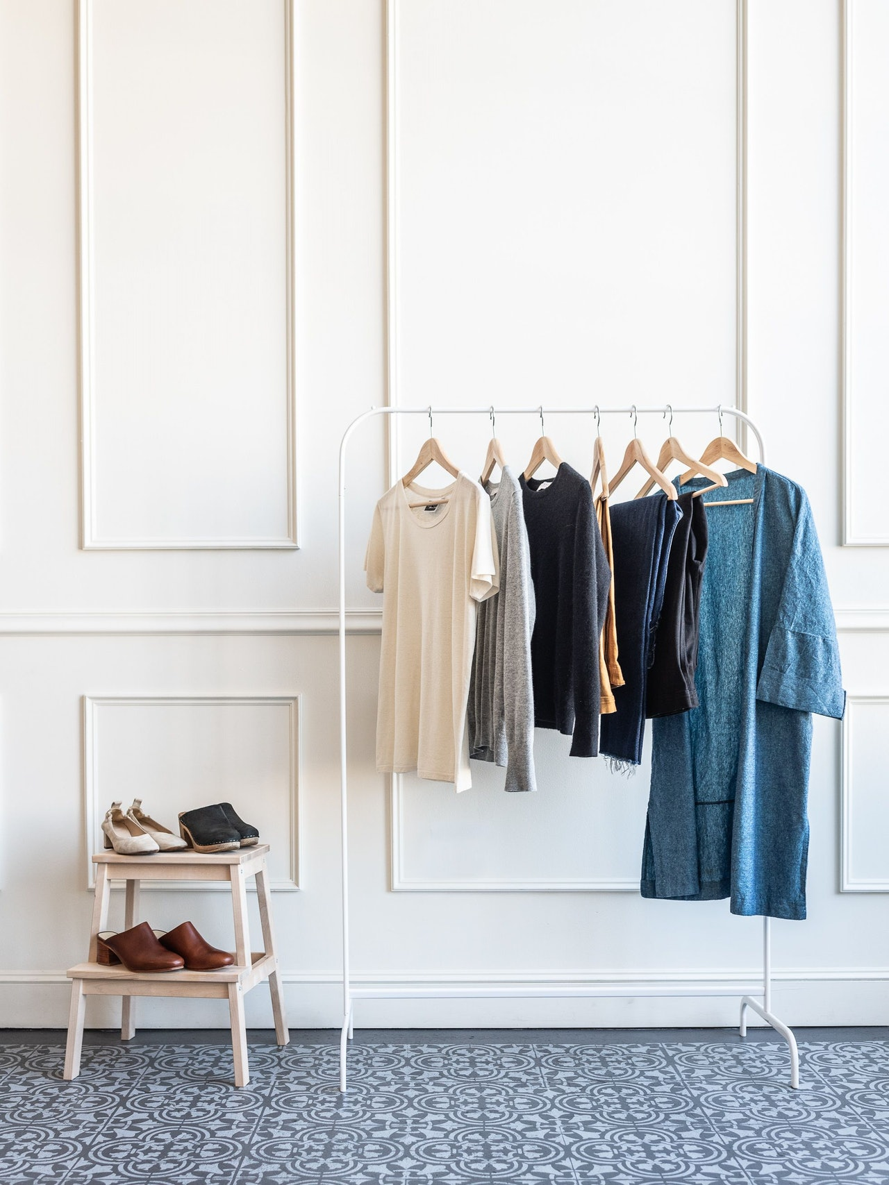 2018 Fall 10x10 Challenge and capsule Closet by Conscious by Chloé