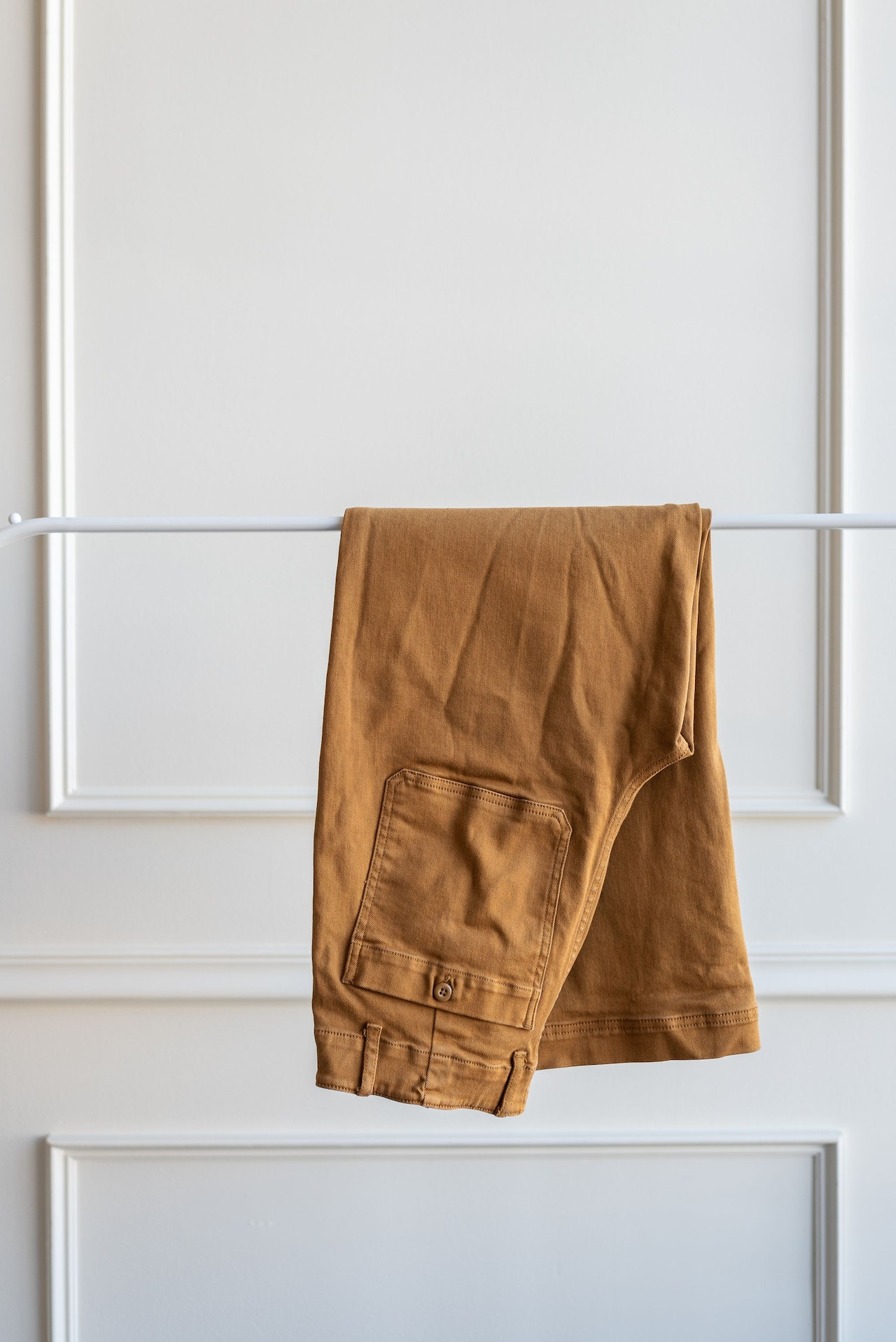 Everlane Wideleg Crop Utility Pant Golden Brown by Conscious by Chloé