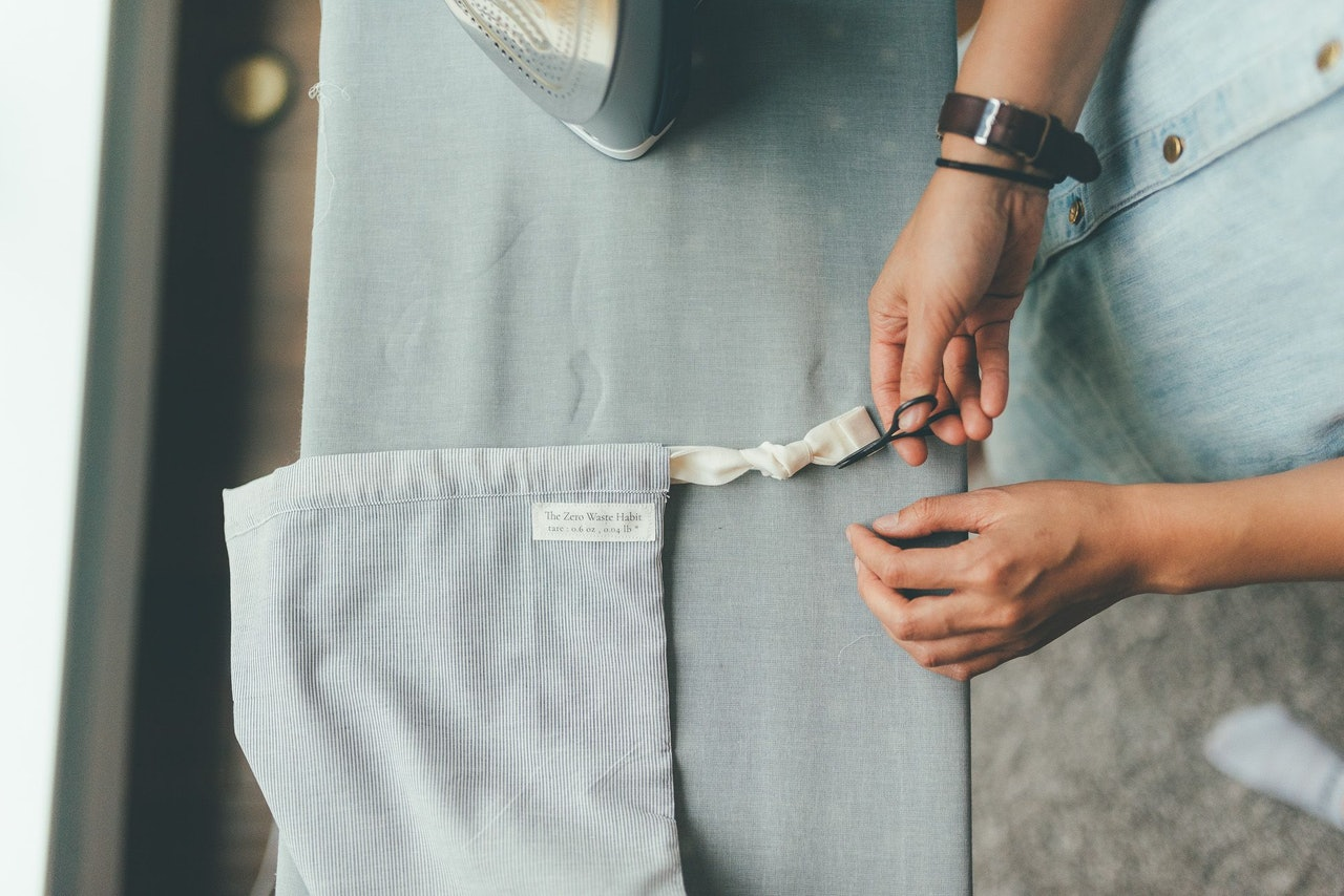 Zero Waste Produce Bag Sewing by Alanna Ludt for Conscious by Chloé
