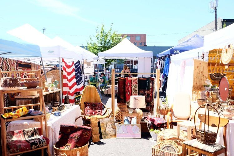 Best Thrift & Vintage Stores in Portland, Oregon by Conscious by Chloé -Portland Flea Market