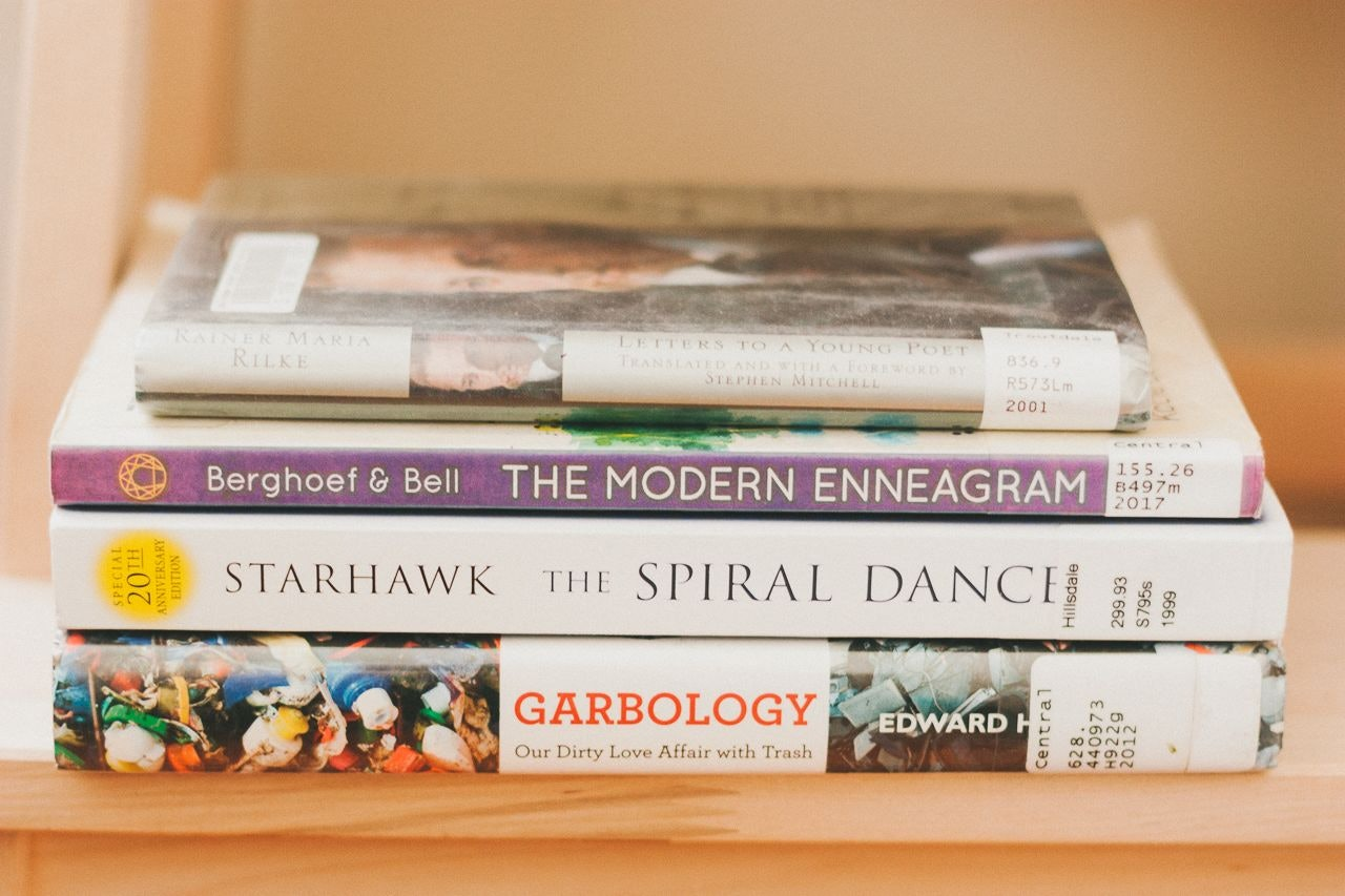 Stack of Books by Conscious by Chloé