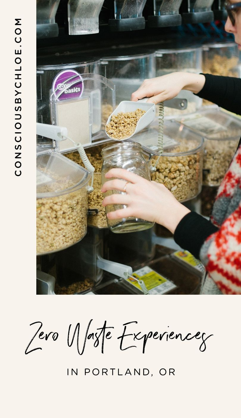 Book a Zero Waste Workshop in Portland, Oregon, with Conscious by Chloé