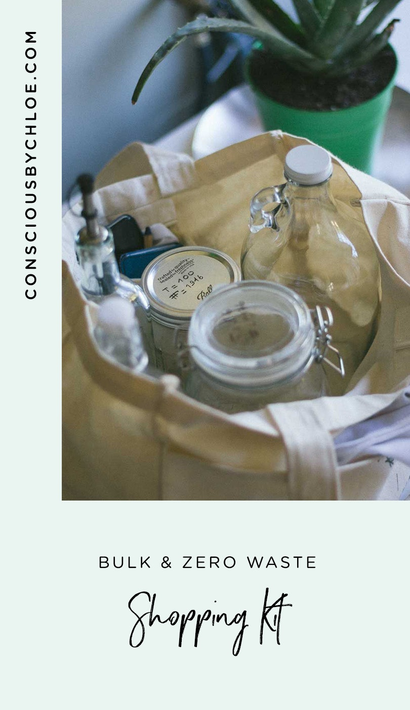 Zero Waste Grocery Kit to Shop in Bulk by Conscious by Chloé