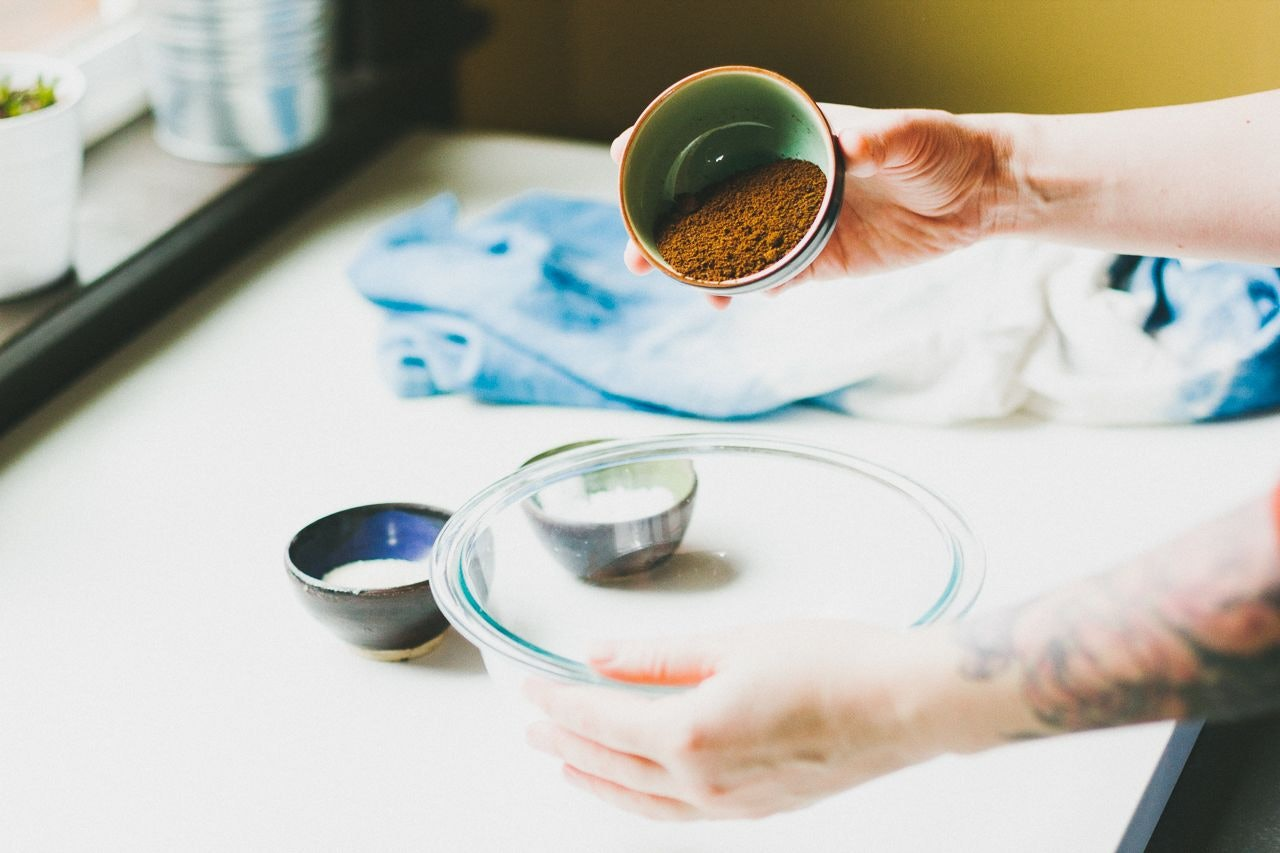 Make your Own Simple & Zero Waste Coconut & Coffee Body & Face Scrub by Conscious by Chloé