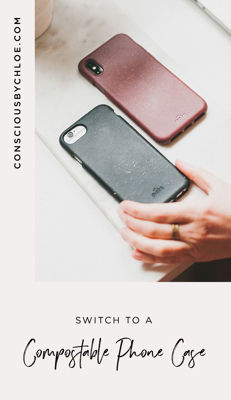 Pela Case's Compostable, Biodegradable, Non Plastic & Non Toxic Phone Case Review by Conscious by Chloé