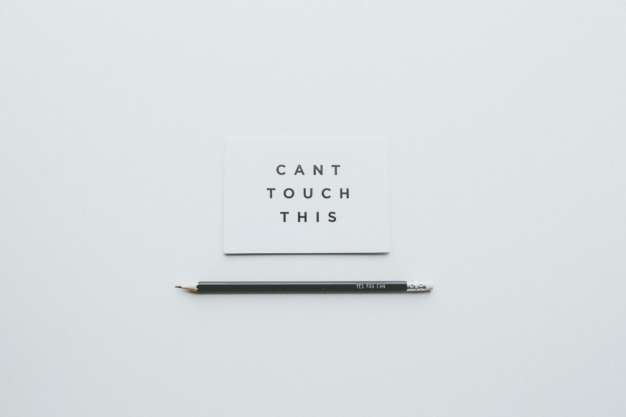 Can't touch this / Yes you can by Conscious by Chloé