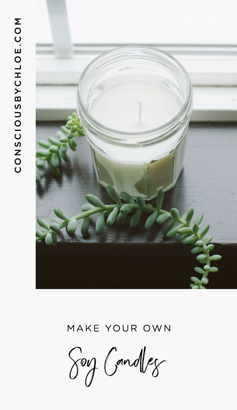 Soy Candle DIY with Jessica Pezalla of Bramble Workshop by Conscious by Chloé