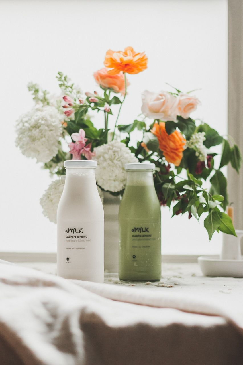 amylk pure plant-based mylk portland oregon by Conscious by Chloé