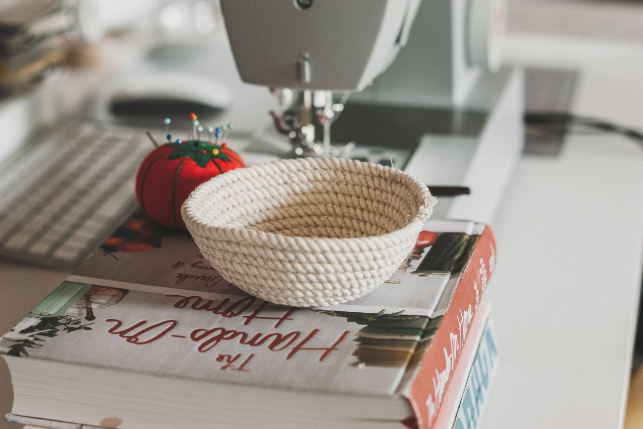 An Easy to Follow Rope Bowl Tutorial DIY by Conscious by Chloé