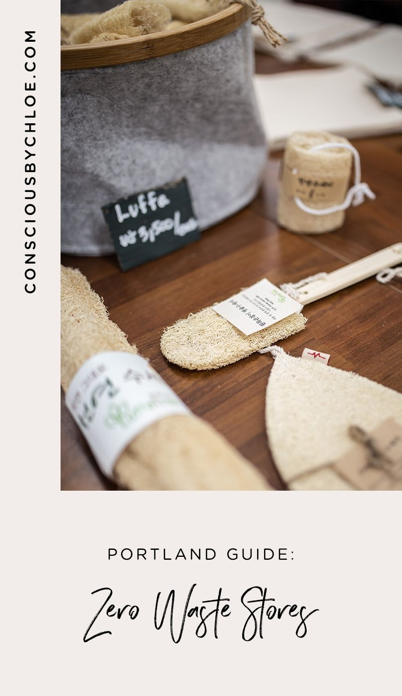 Zero Waste Essentials Stores in Porland Oregon by Conscious by Chloé