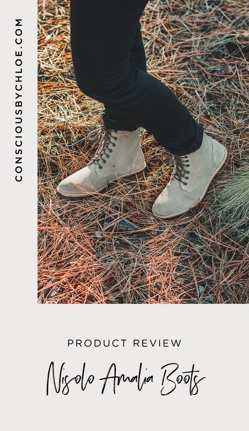 Nisolo Amalia All Weather Boot Stone Review by Conscious by Chloé