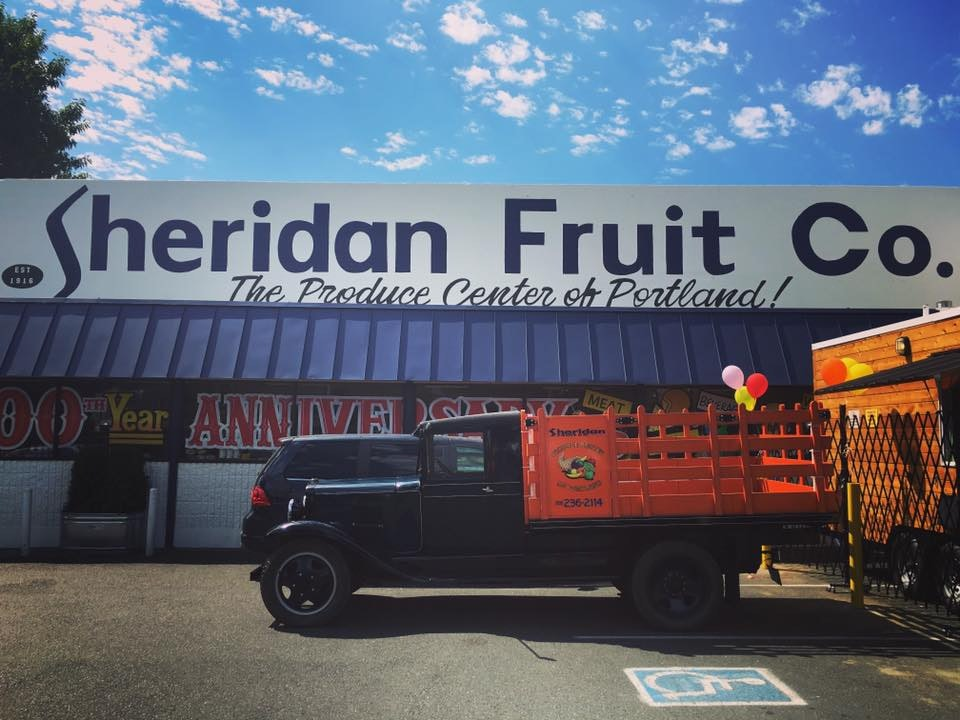 Sheridan Fruit Co Portland Oregon for Conscious by Chloé