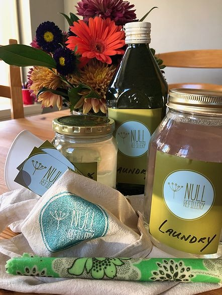 Null Refillery Waste Essentials Store in Porland Oregon by Conscious by Chloé