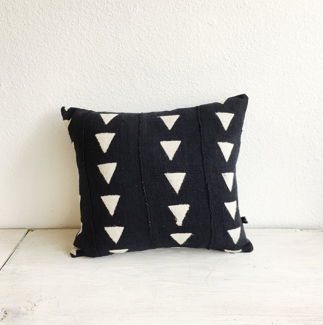 Mud Cloth Pillow by Appetite Shop Portland for Conscious by Chloé