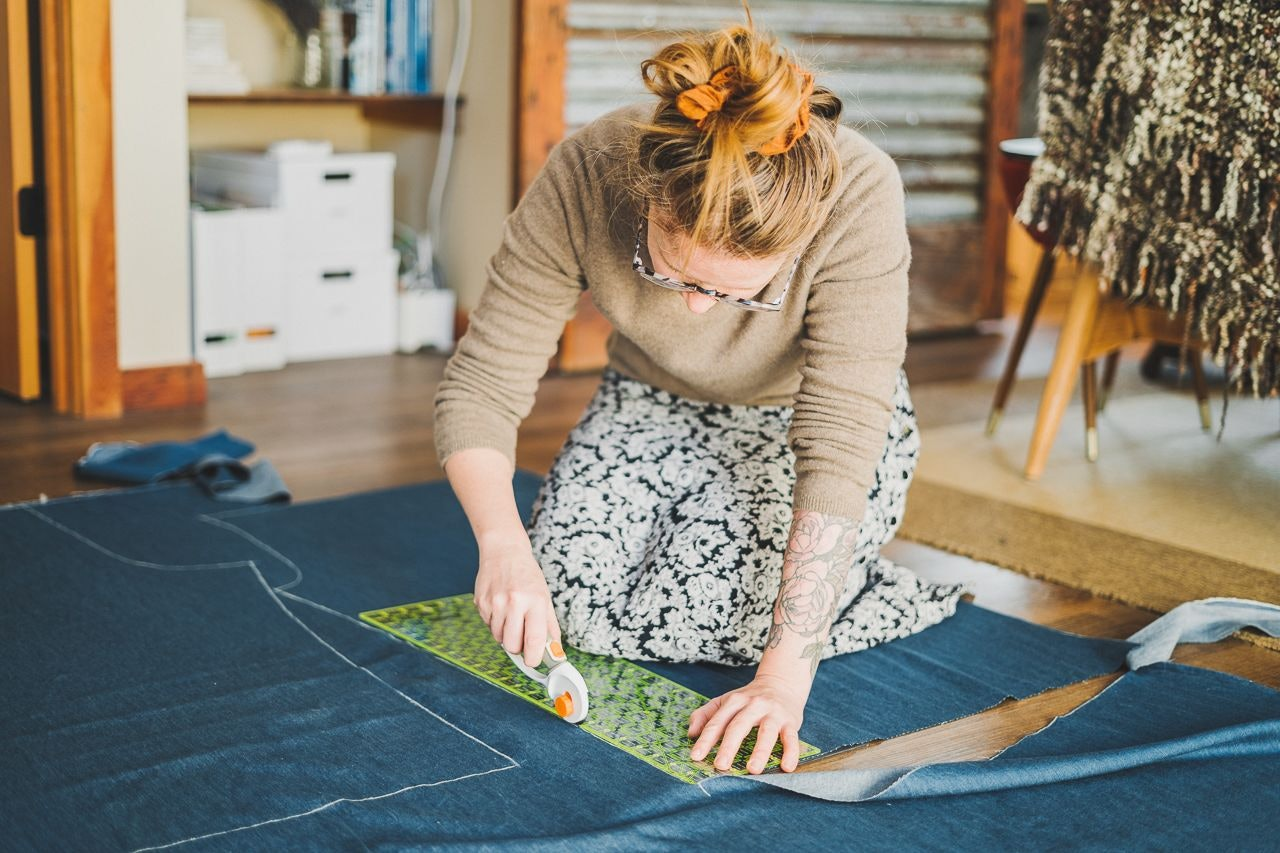 Sewing Anna Allen Clothing Pomona Pants by Conscious by Chloé