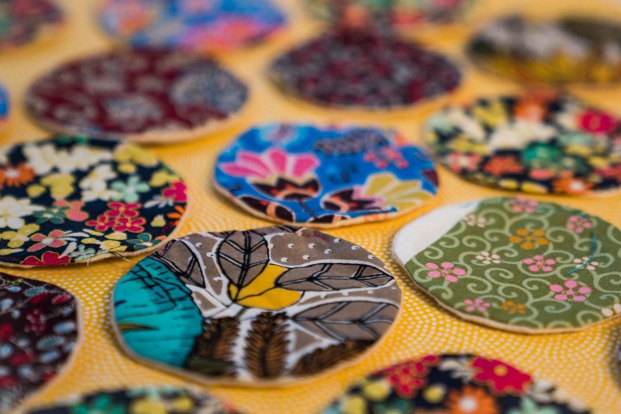 Zero Waste Reusable Cotton Rounds by Hidden Opulence Portland for Conscious by Chloé