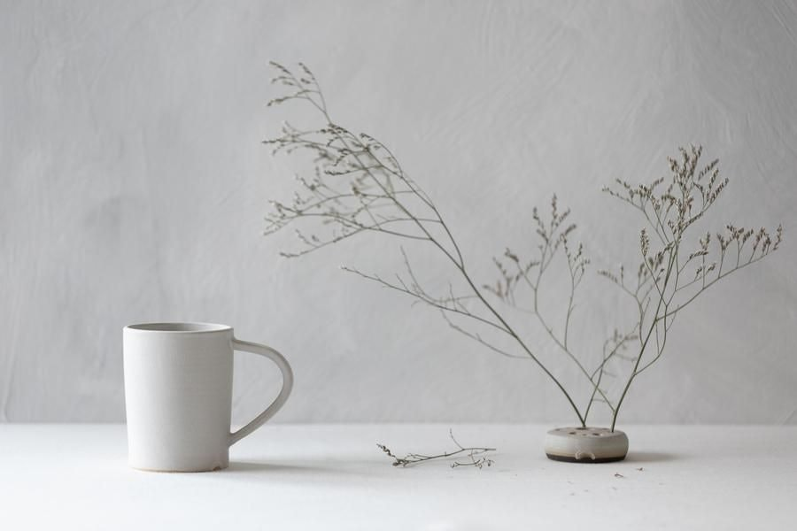 Notary Ceramics Putty Grey Mug for Conscious by Chloé