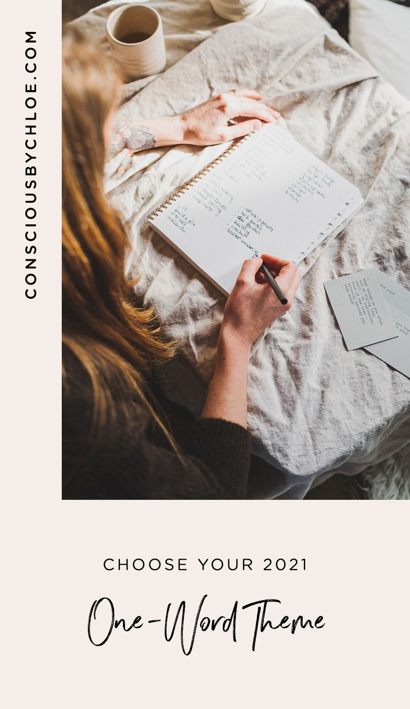 One-Word Theme Inspiration for the New Year 2021 by Conscious by Chloé