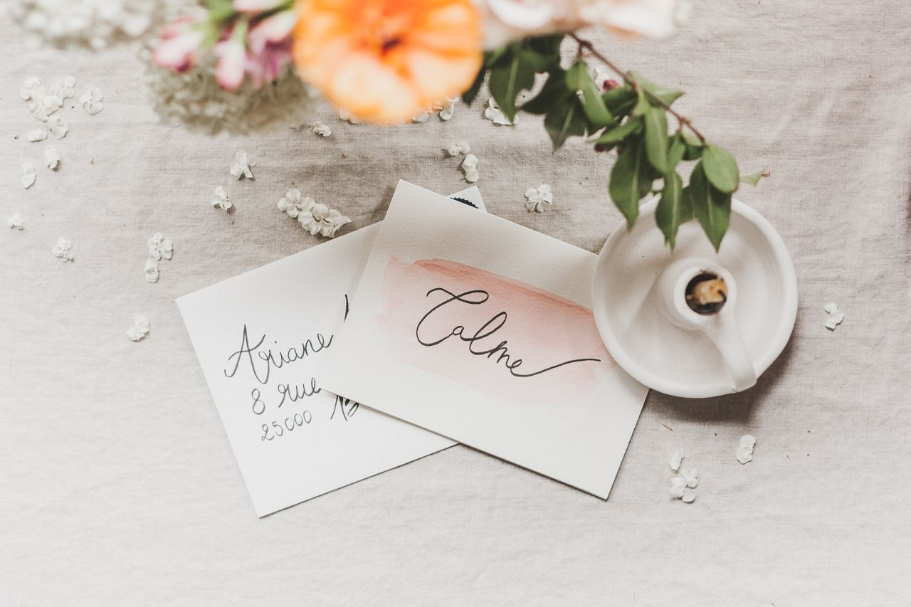 Make your Own Watercolor and Calligraphy Cards
