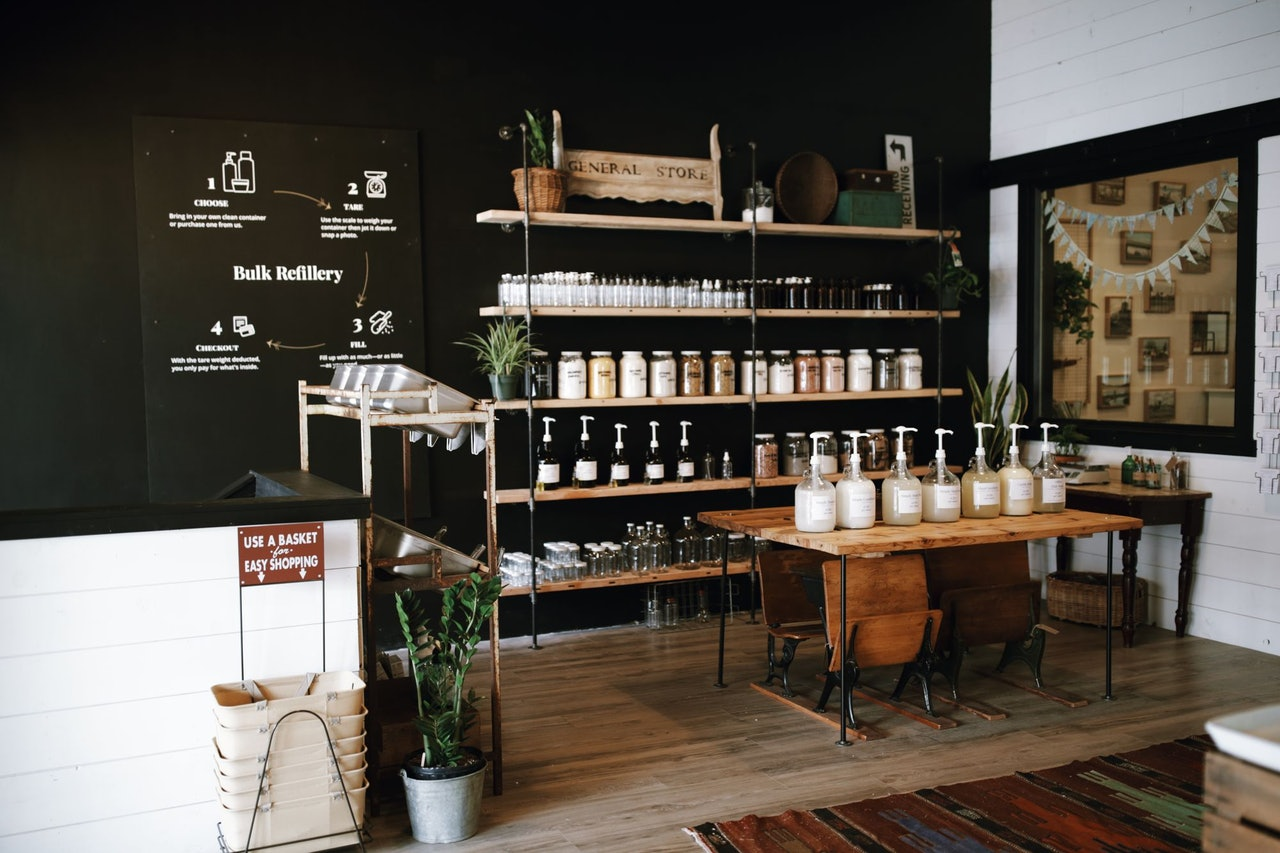 Kindred Homestead Supplies Zero Waste Essentials and Refill Store in Vancouver Washington by Conscious by Chloé